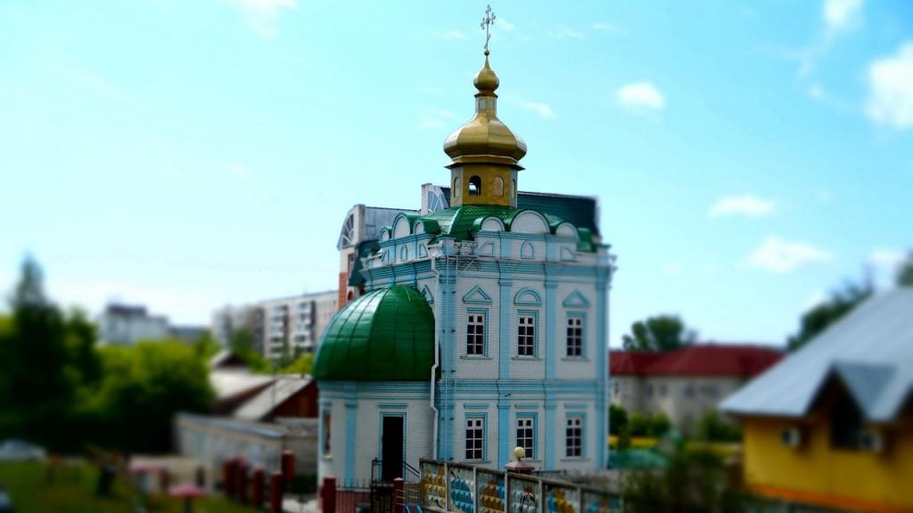 Храм преподобного Антония Киево-Печерского (г. Барнаул)